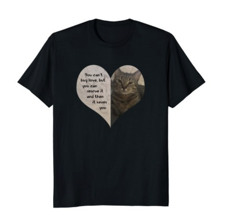 Rescue heart t-shirt