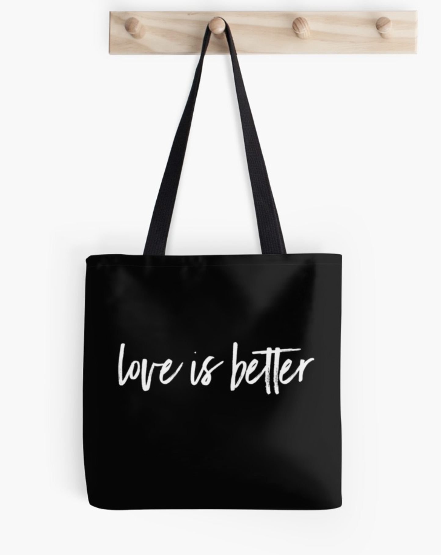 love is better tote