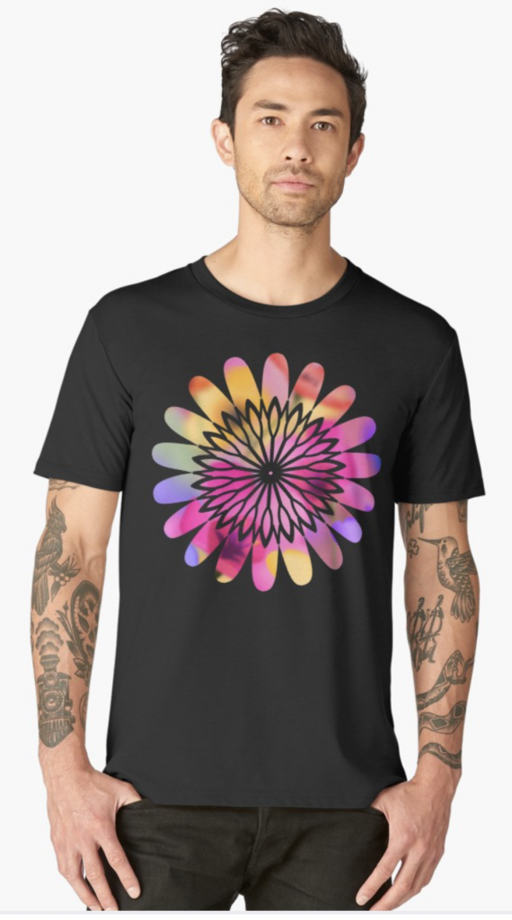 Flower Power Men's T-Shirt
