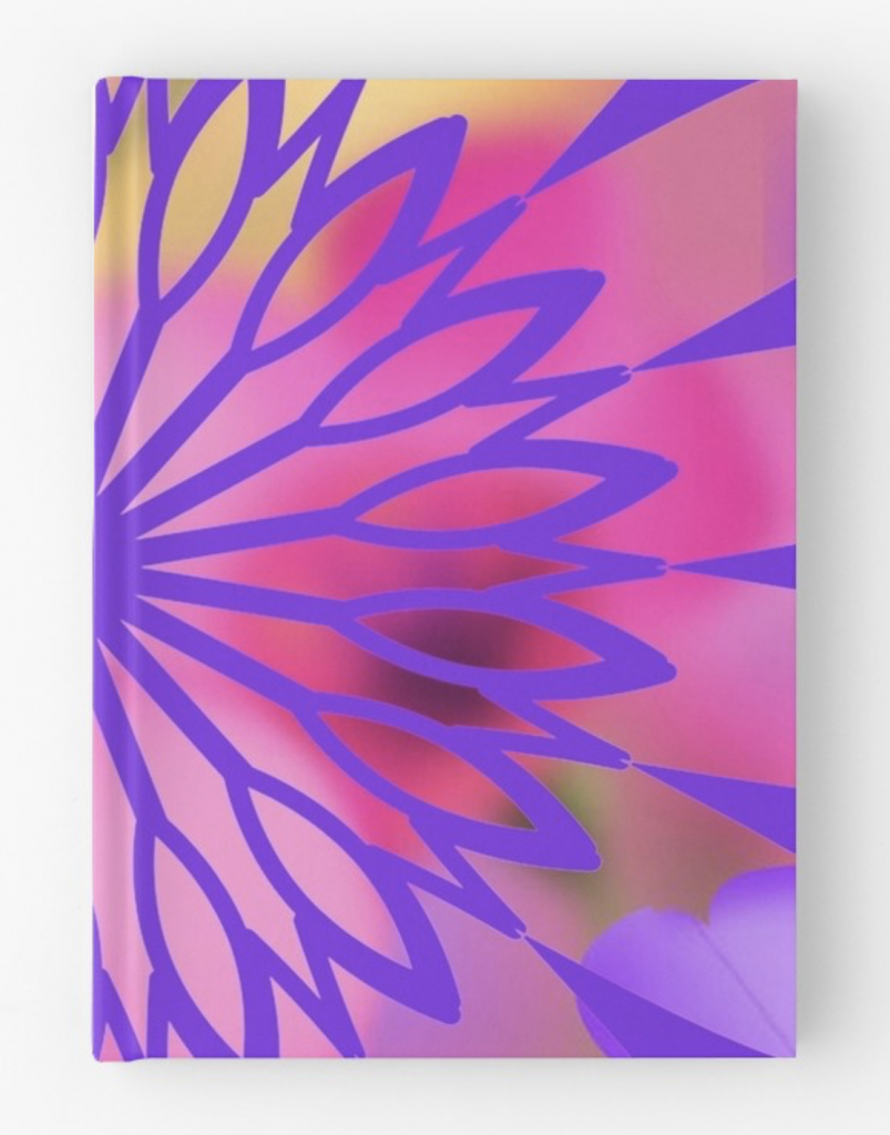 Flower Power Hardcover Journal