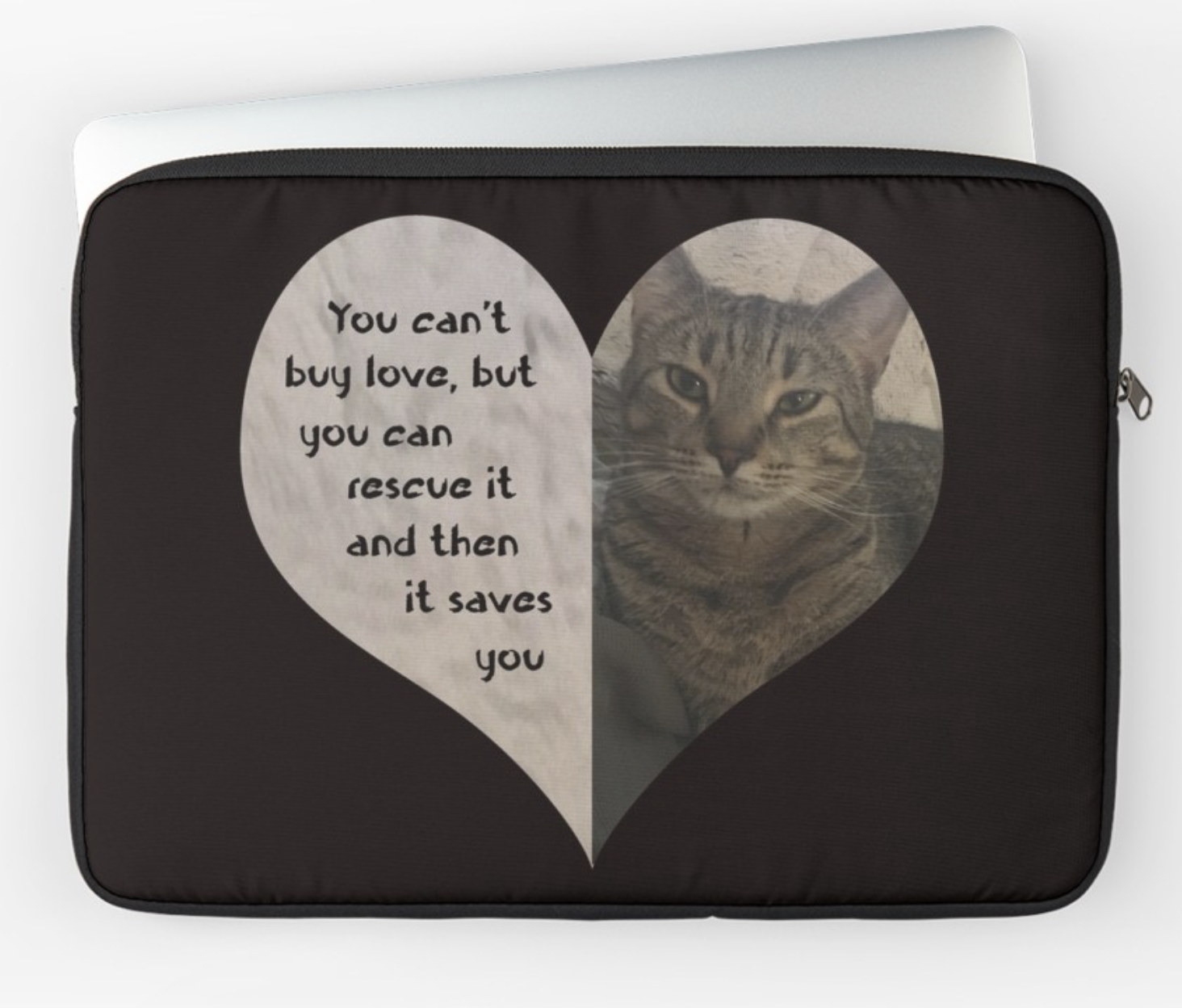 Rescue Love Laptop Sleeve