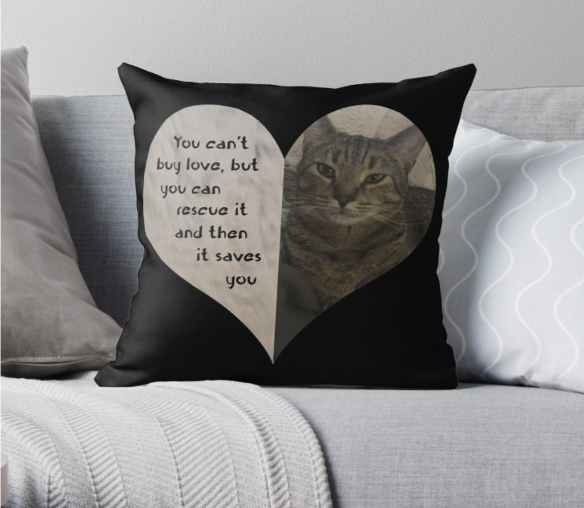 Rescue Love Pillow