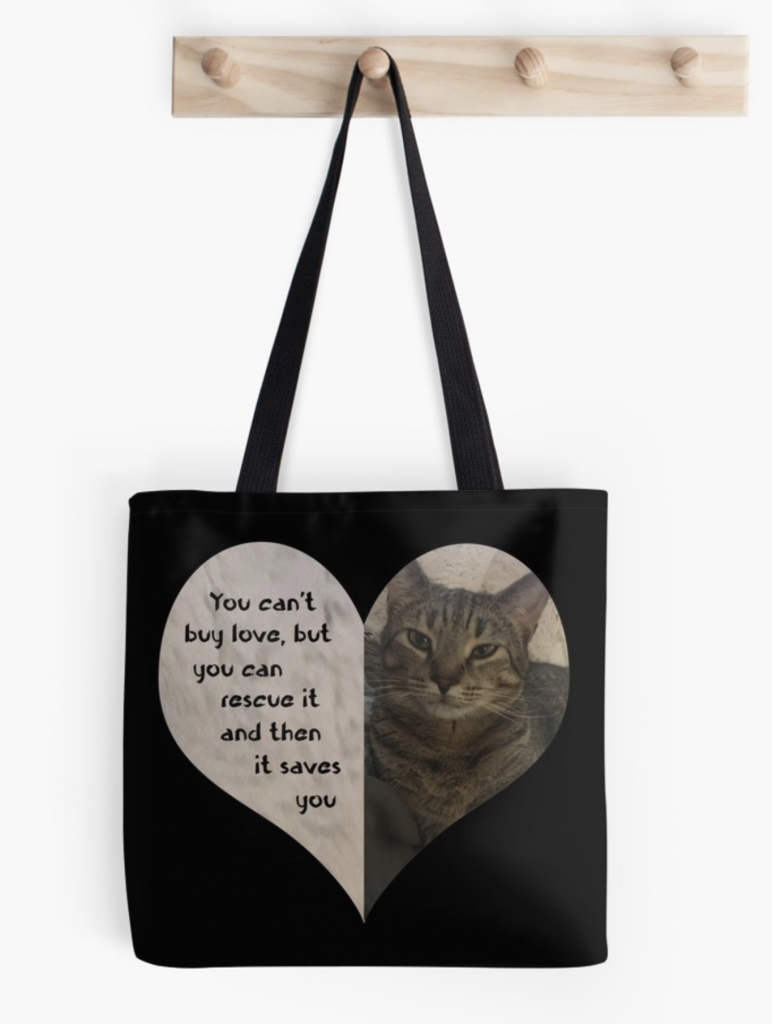Rescue Love Tote