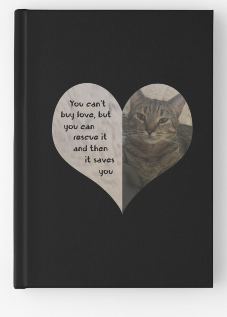 Rescue Love Hardcover Journal