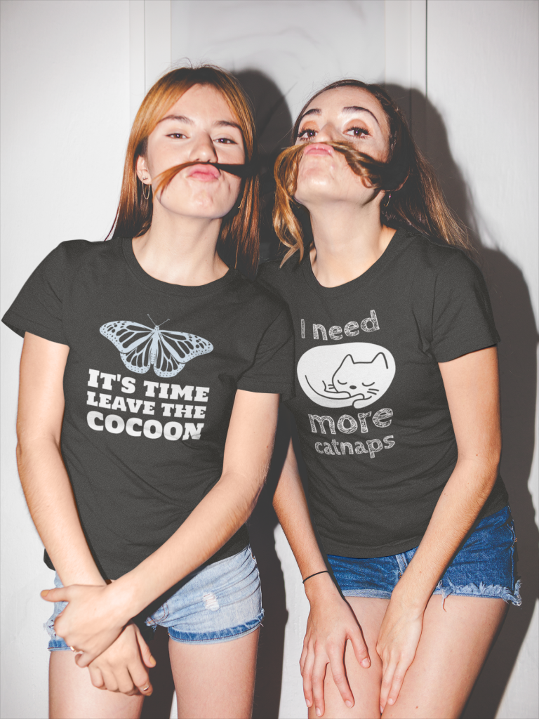 Leave the Cocoon Shirt and More Catnaps Sleeping Kitty Shirt