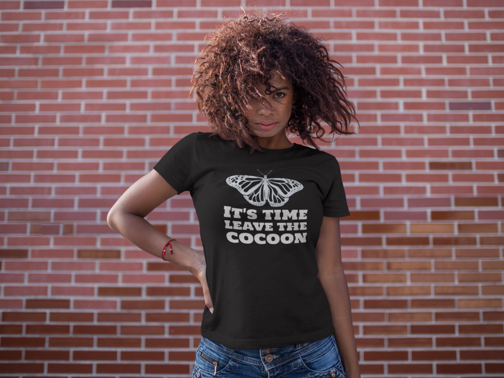 It's Time, Leave the Cocoon t-shirt