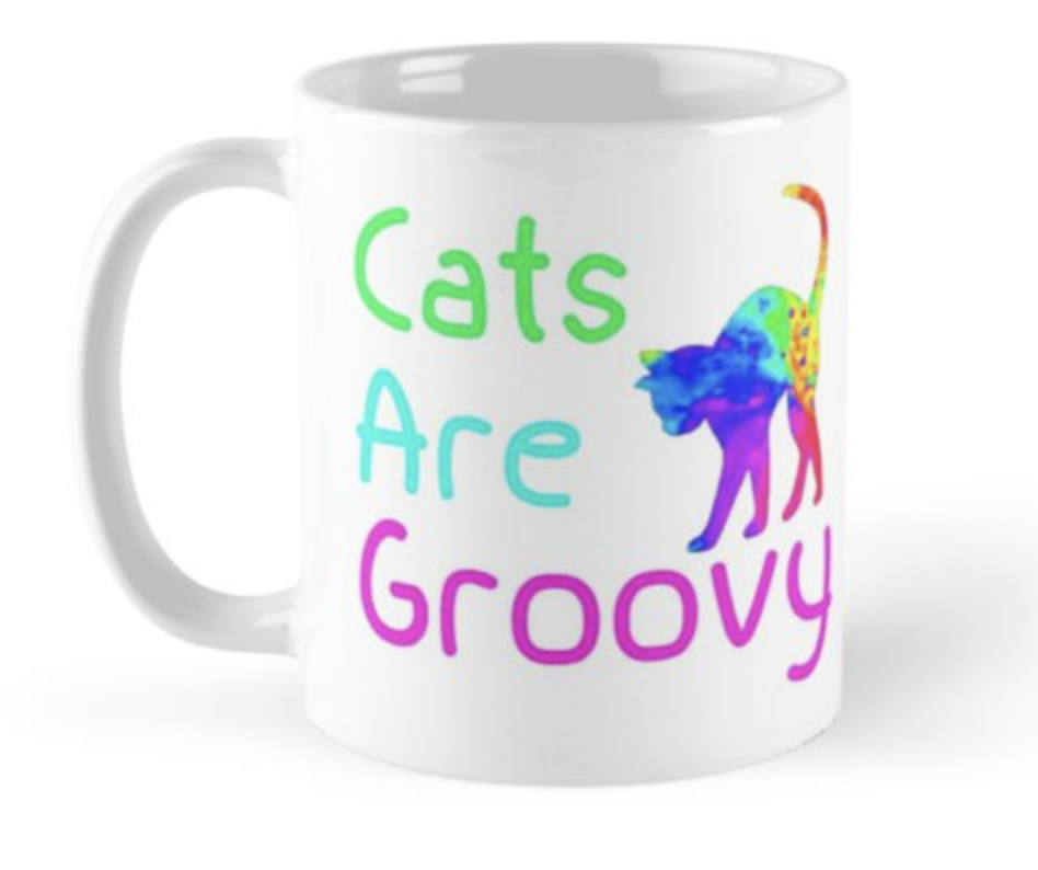 Cats are Groovy Mug