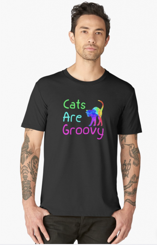 Cats are Groovy T-Shirt