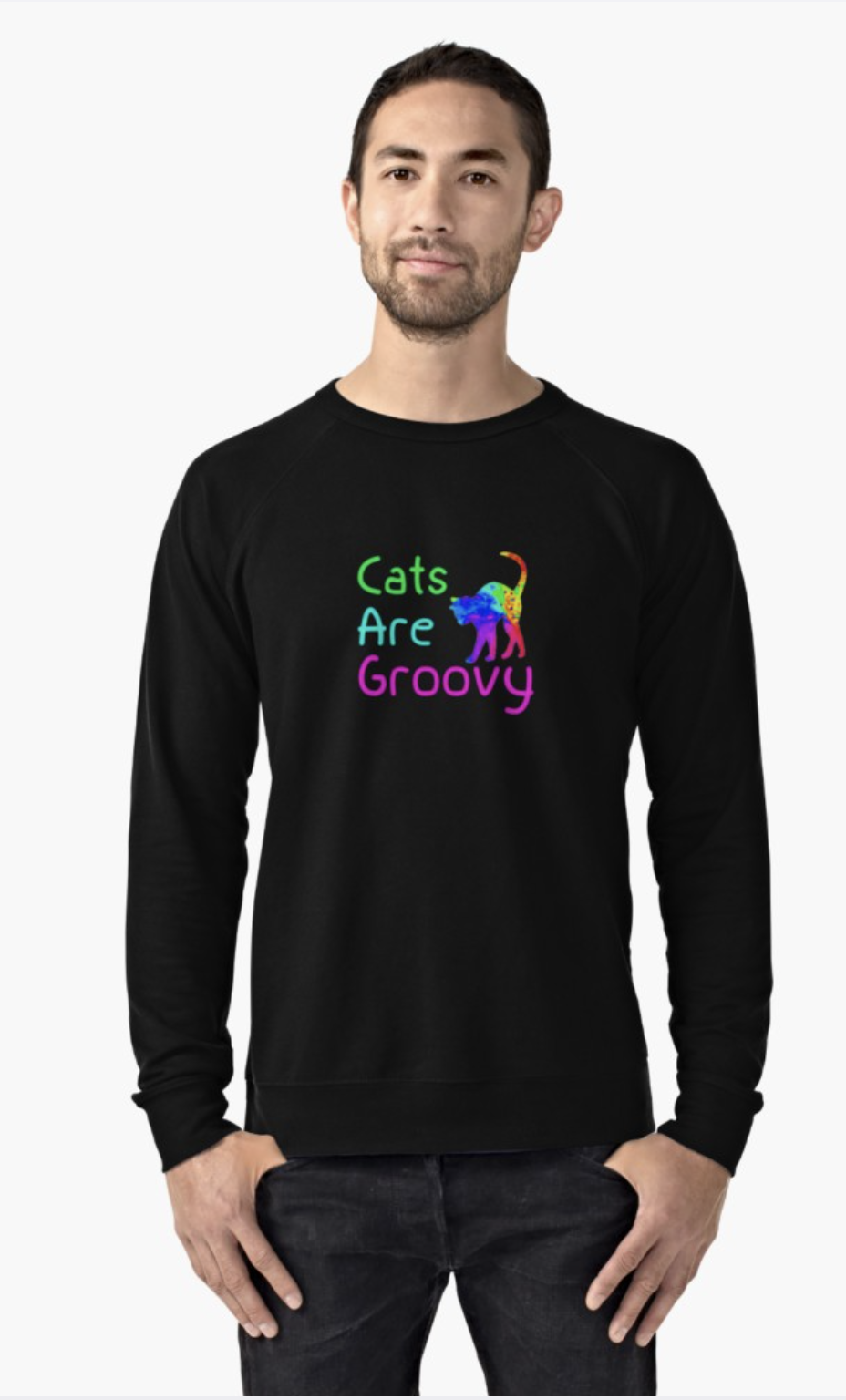 Cats are Groovy Sweatshirt