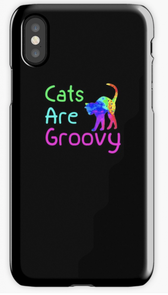Cats are Groovy iPhone