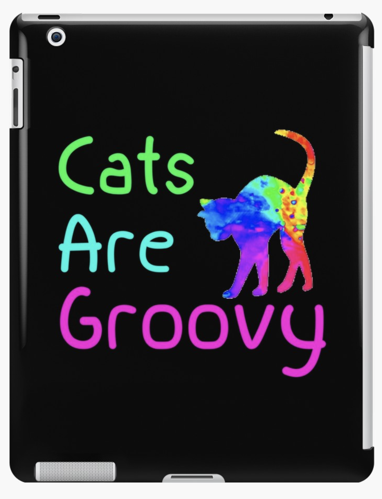 Cats are Groovy iPad
