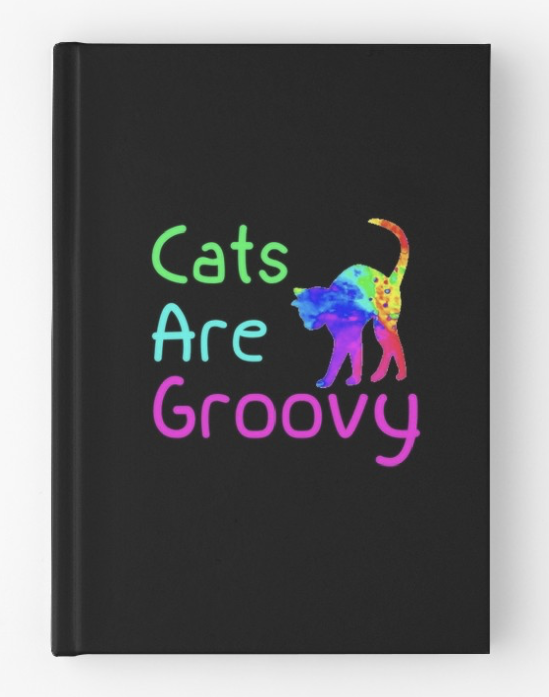 Cats are Groovy Hardcover Journal