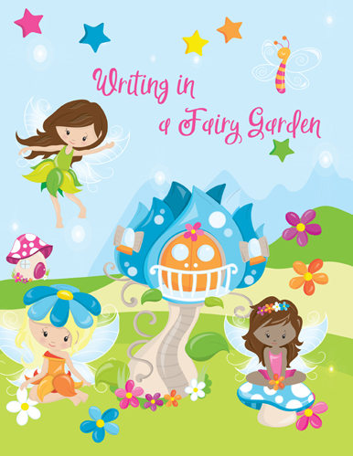 Writing in a Fairy Garden Cover