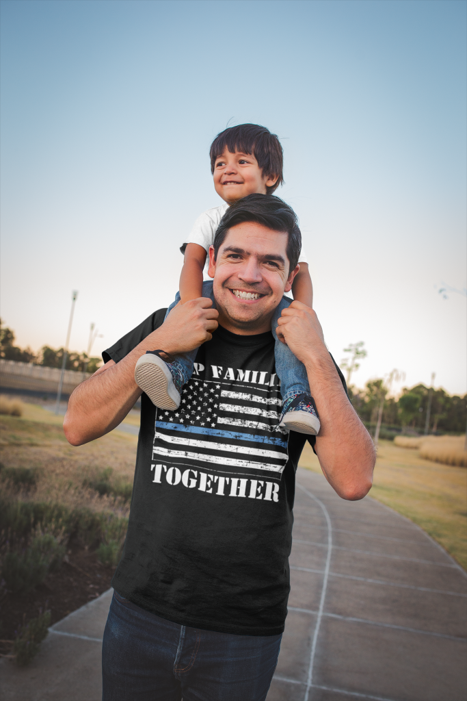 Keep Families Together Flag T-shirt