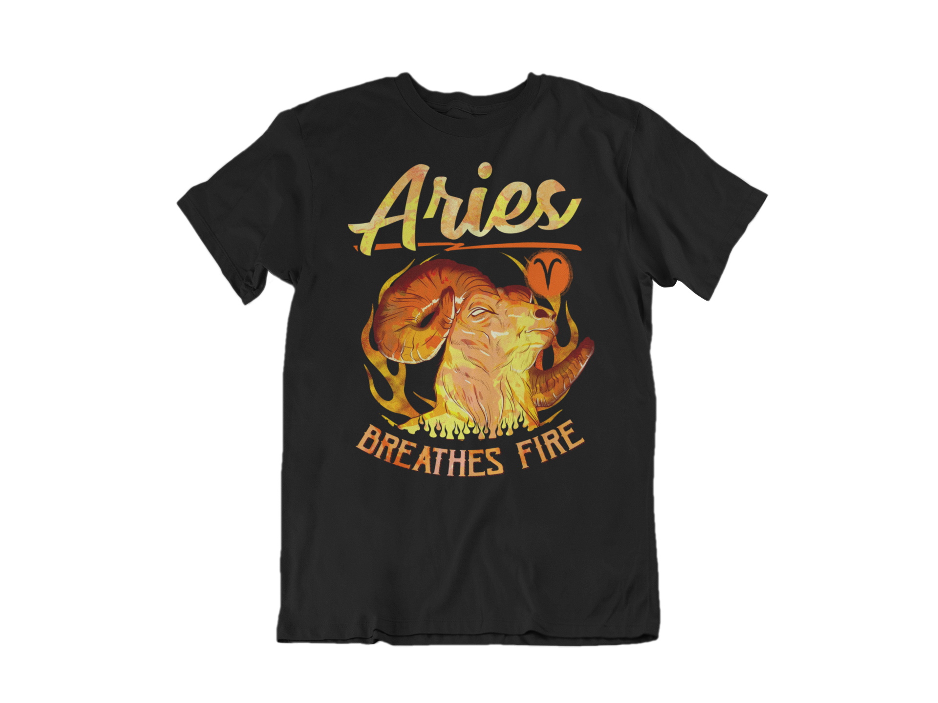 Aries Breathes Fire
