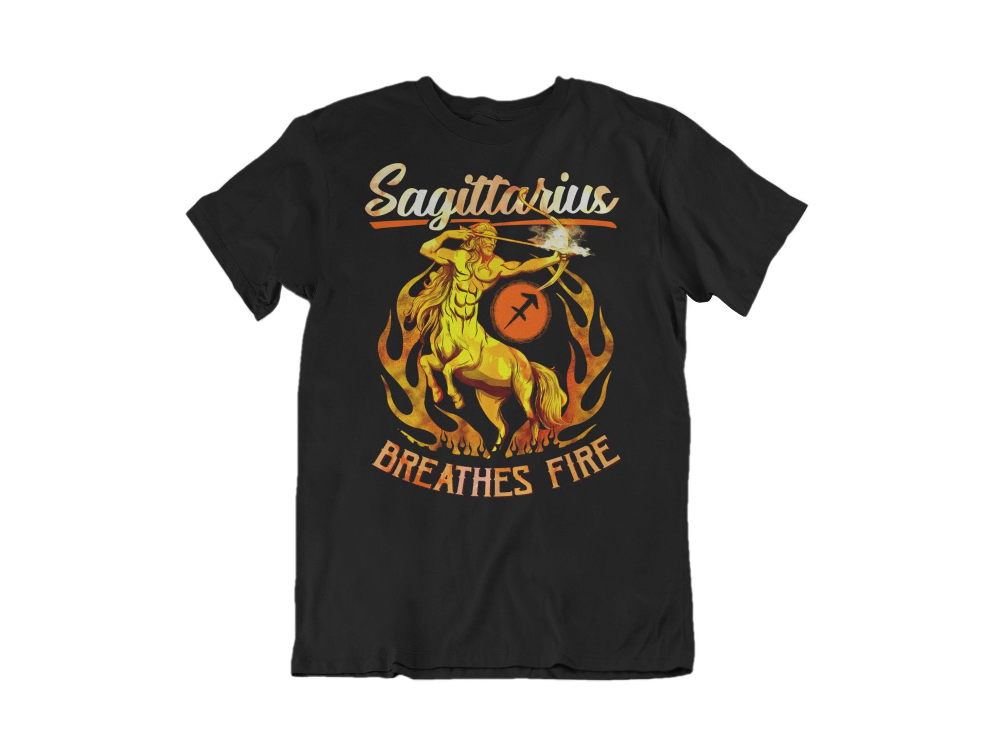 Sagittarius Breathes Fire