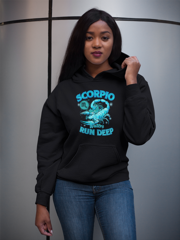 Scorpio Waters Run Deep Hoodie