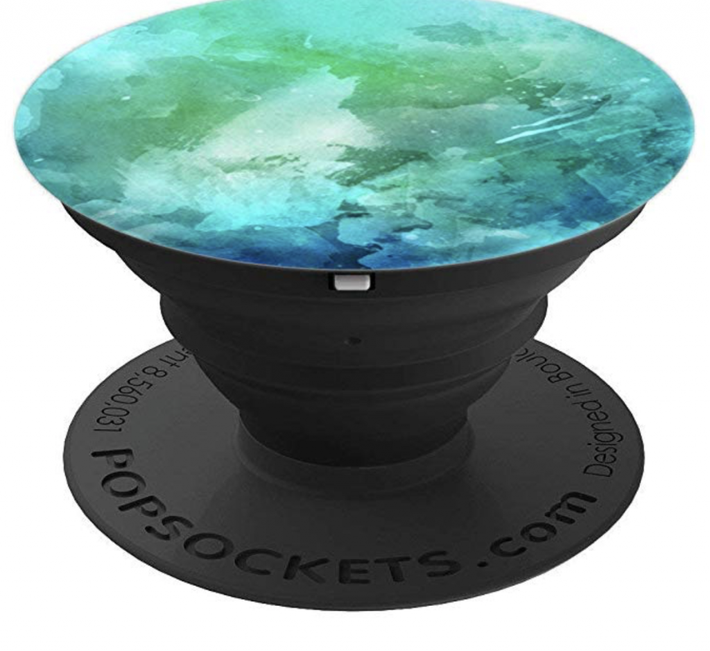 Green Blue Marble PopSocket