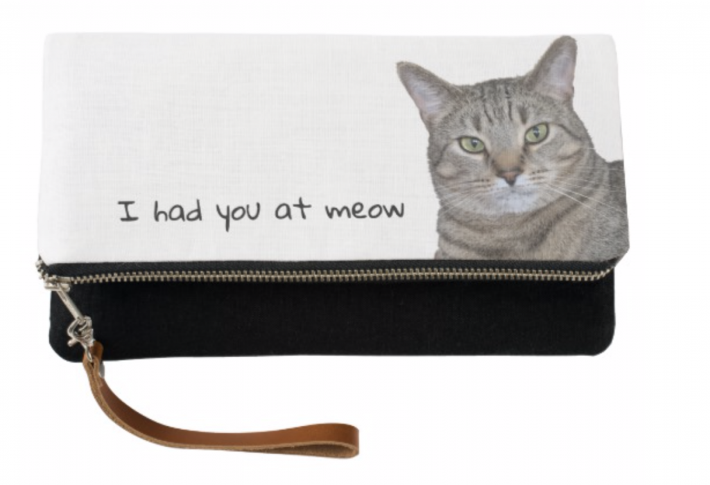 I had you at meow clutch
